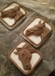 Horse melt and pour soap by Kelly.