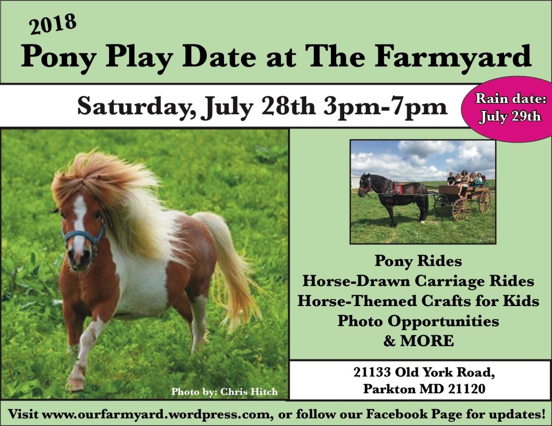 Pony Play Date 2018