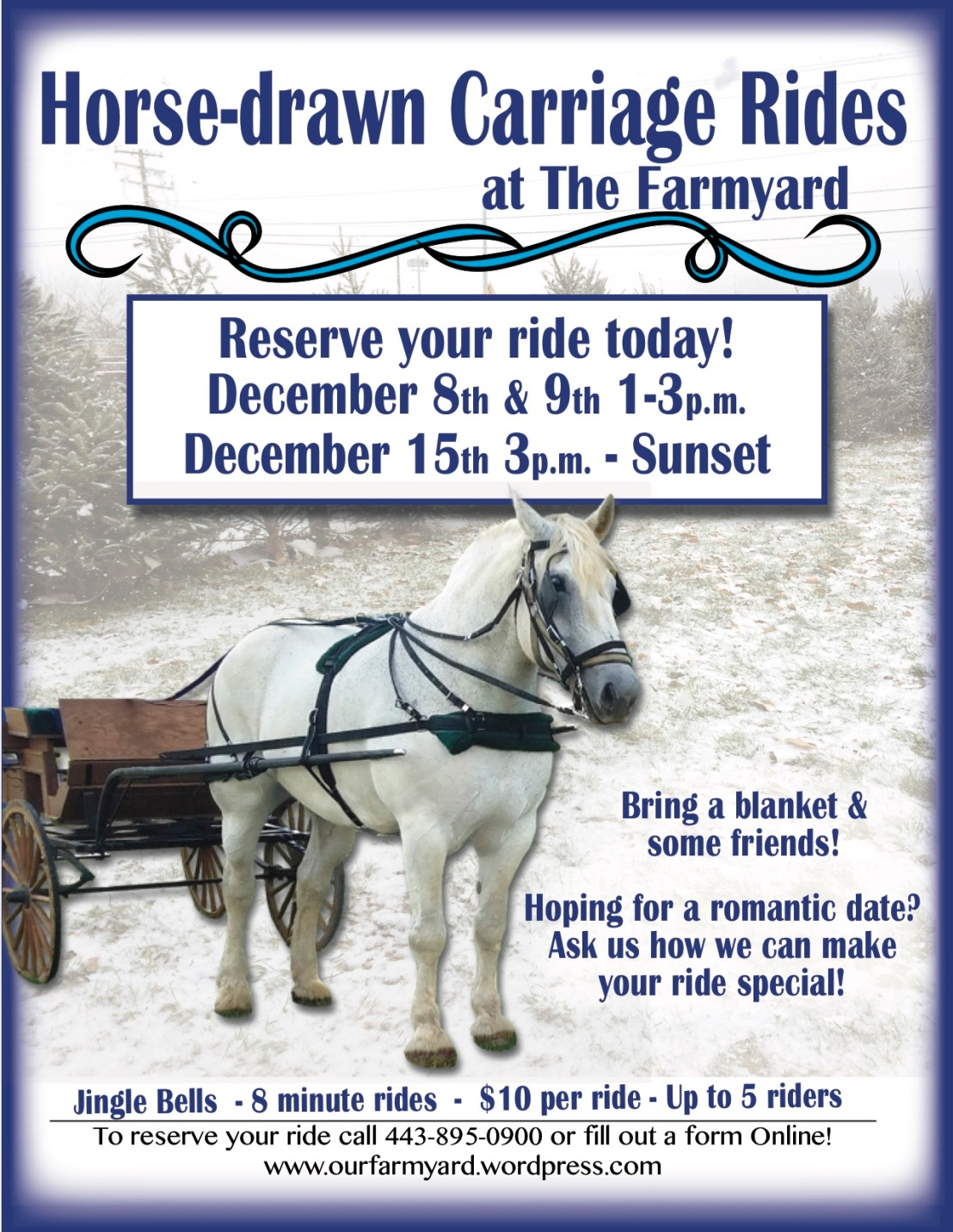 Farmyard Winter Cariage Rides 2018
